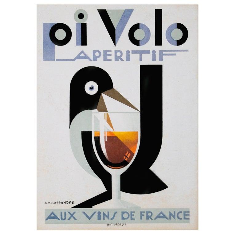 Original french art deco period poster by a m cassandre for Art deco era dates