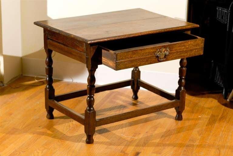 Wood Circa 1890 - 1910 Fantastic English Side Table For Sale