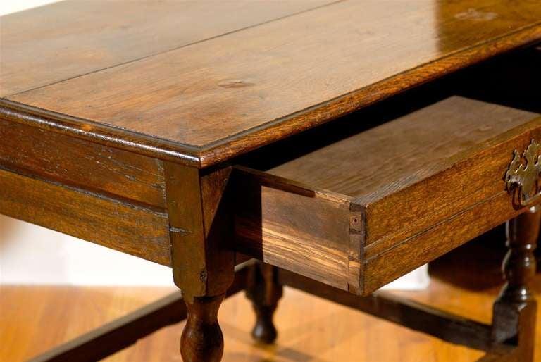 Circa 1890 - 1910 Fantastic English Side Table For Sale 1