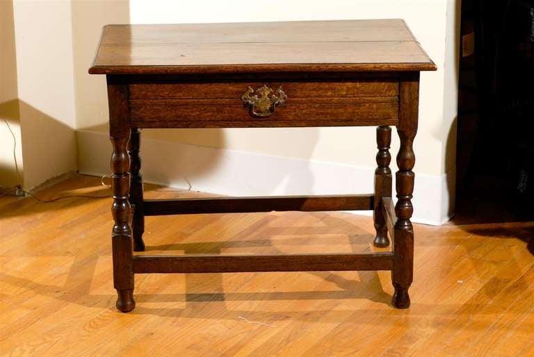 Circa 1890 - 1910 Fantastic English Side Table For Sale 4