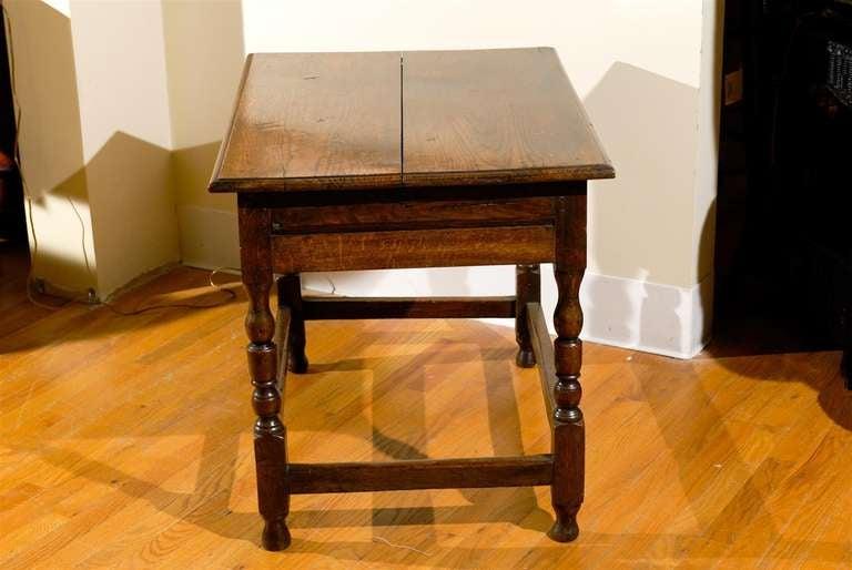 Circa 1890 - 1910 Fantastic English Side Table In Excellent Condition For Sale In Atlanta, GA