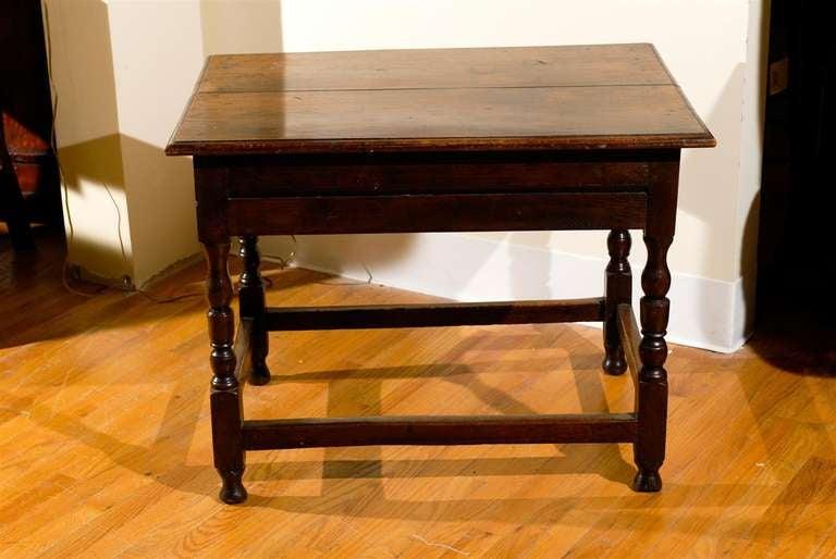 Circa 1890 - 1910 Fantastic English Side Table For Sale 3