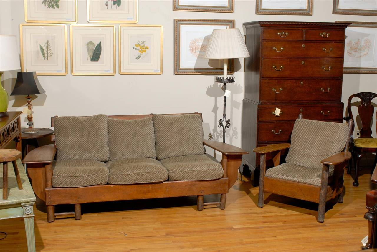 old hickory sofa ranch hickory sofa thesofa. Black Bedroom Furniture Sets. Home Design Ideas