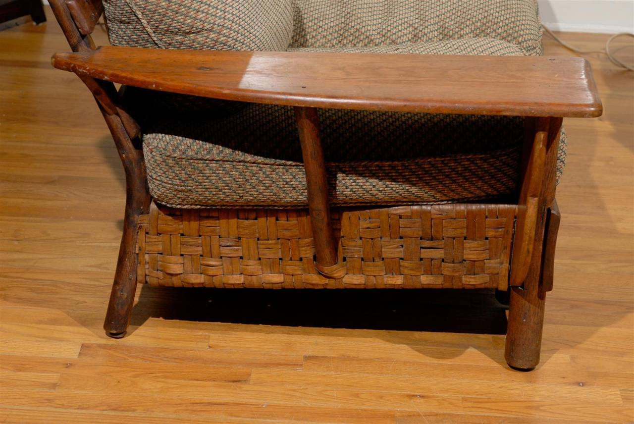 1920 1930 Old Hickory Sofa and Chair at 1stdibs