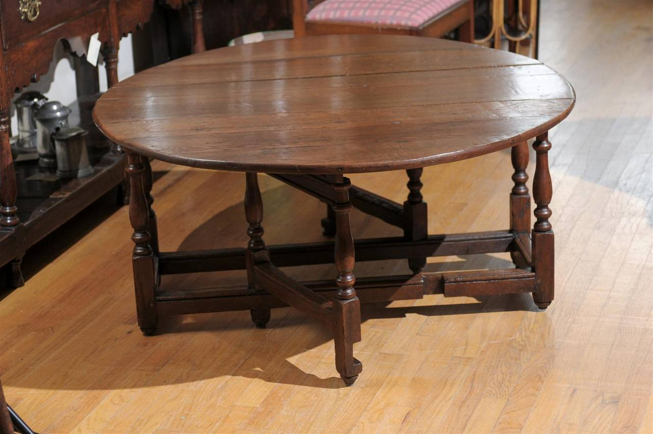Gate Leg Drop Leaf Coffee Table At 1stdibs