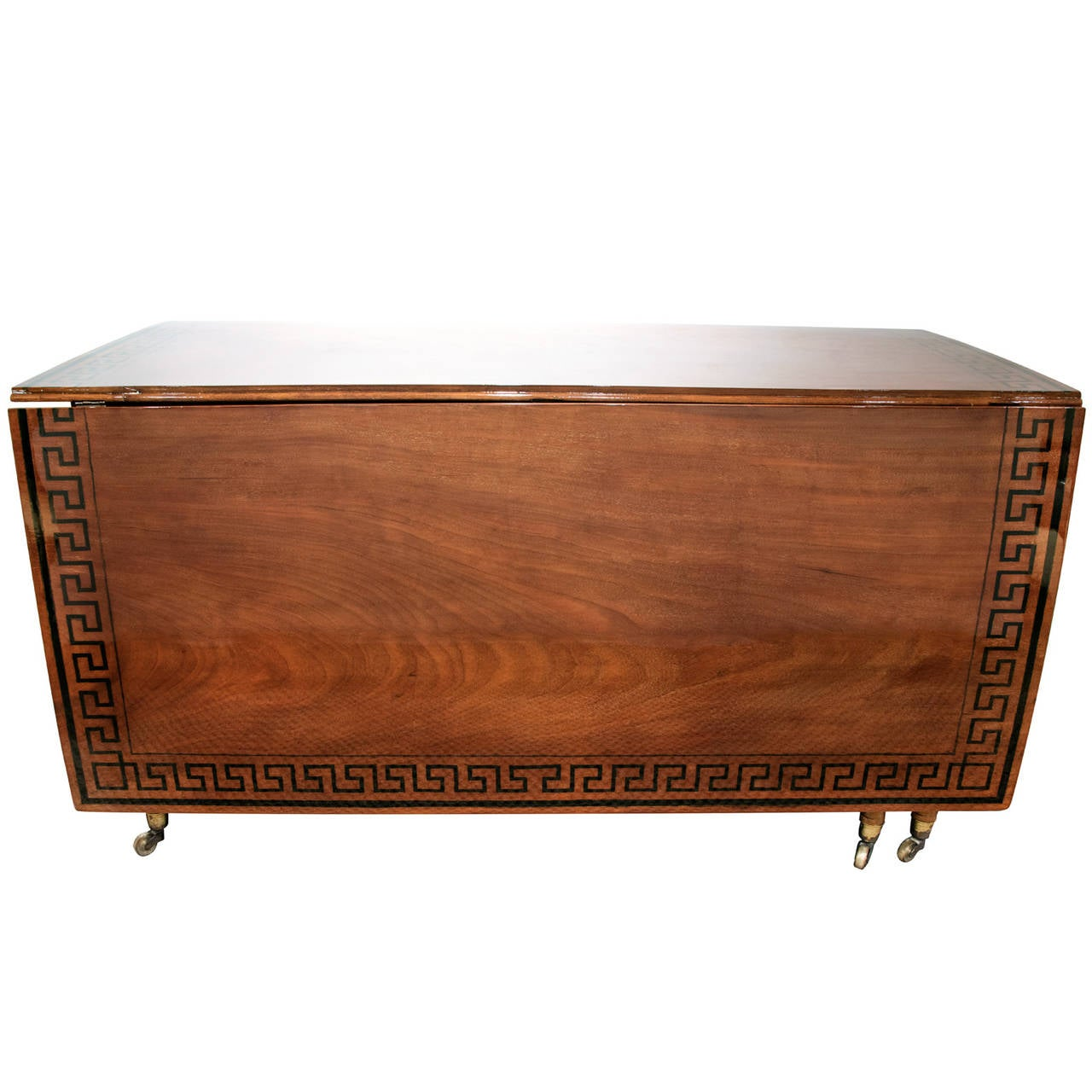 Regency Mahogany Drop-Leaf Table 2