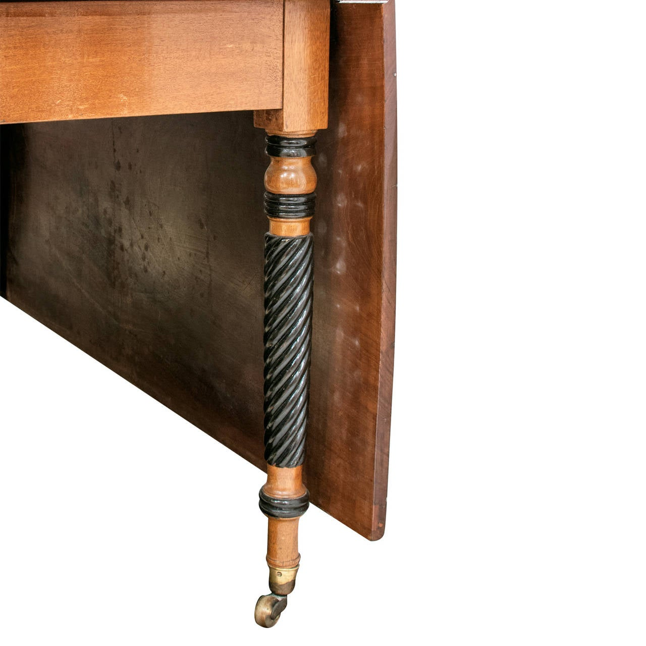 Regency Mahogany Drop-Leaf Table 3