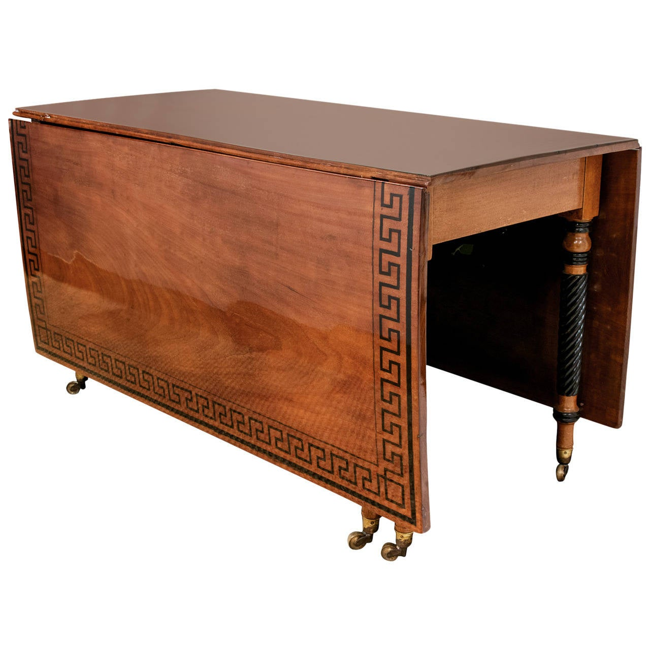 Regency Mahogany Drop-Leaf Table 1