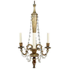19th Century Louis XVI Style Chandelier
