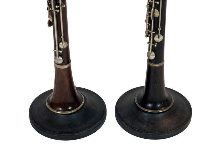 Pair of Clarinet Table Lamps 2