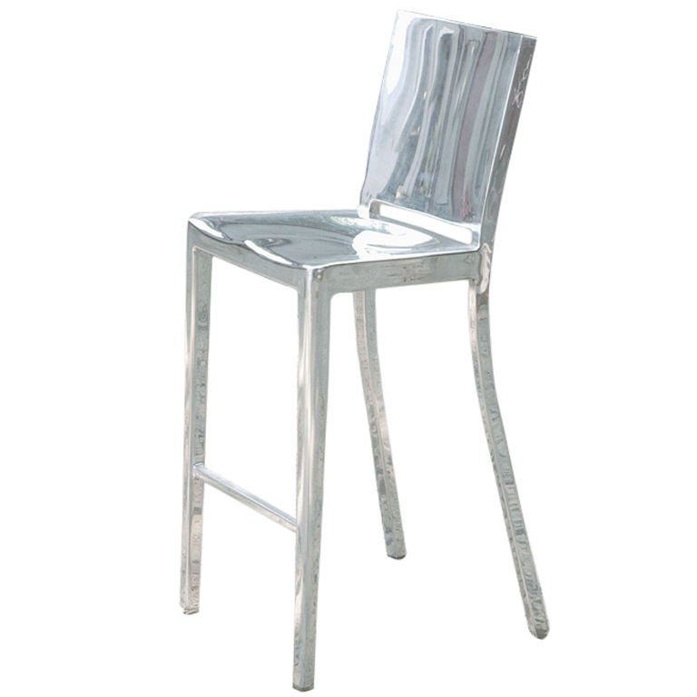 Phillip Starck Hudson Barstool For Emeco 2000 At 1stdibs