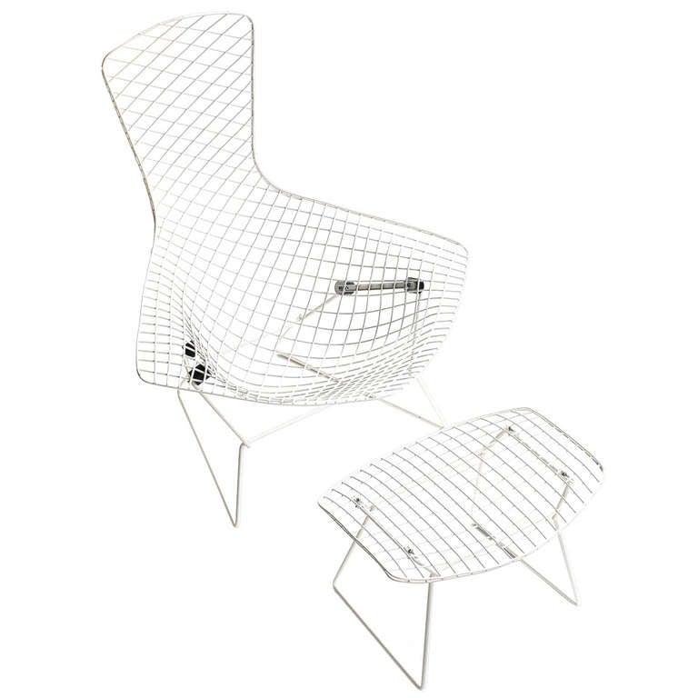 harry bertoia vintage u0026quot bird chair u0026quot  for knoll at 1stdibs