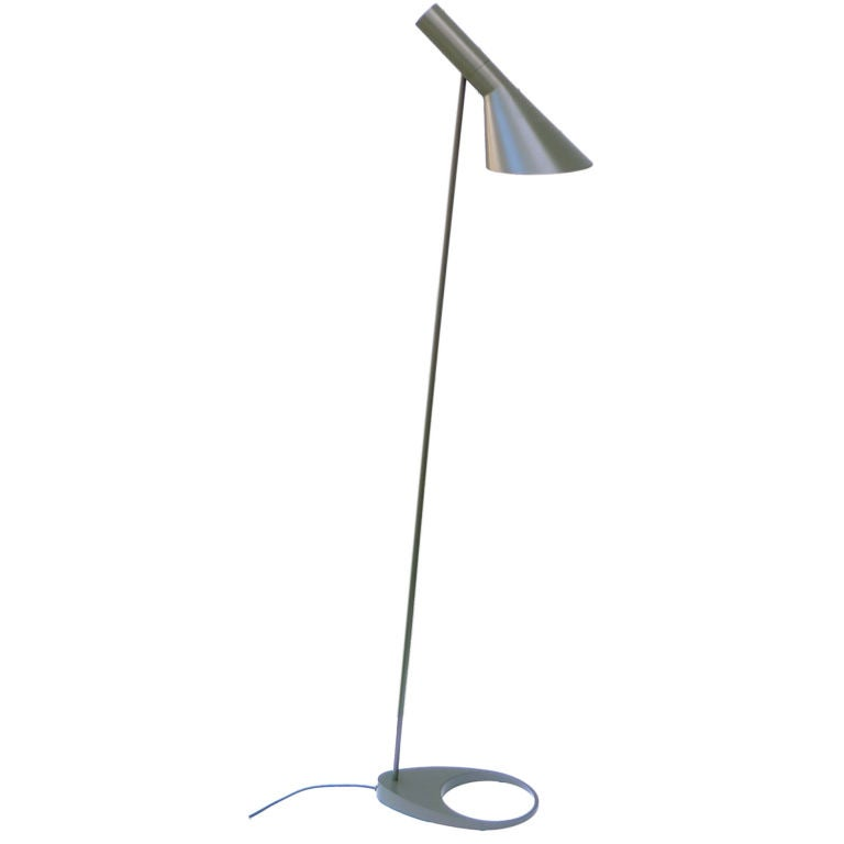 arne jacobsen aj visor floor lamp for louis poulson 1957 at 1stdibs. Black Bedroom Furniture Sets. Home Design Ideas