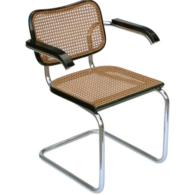 Marcel Breuer 1928 Cesca Chair, Stendig at 1stdibs