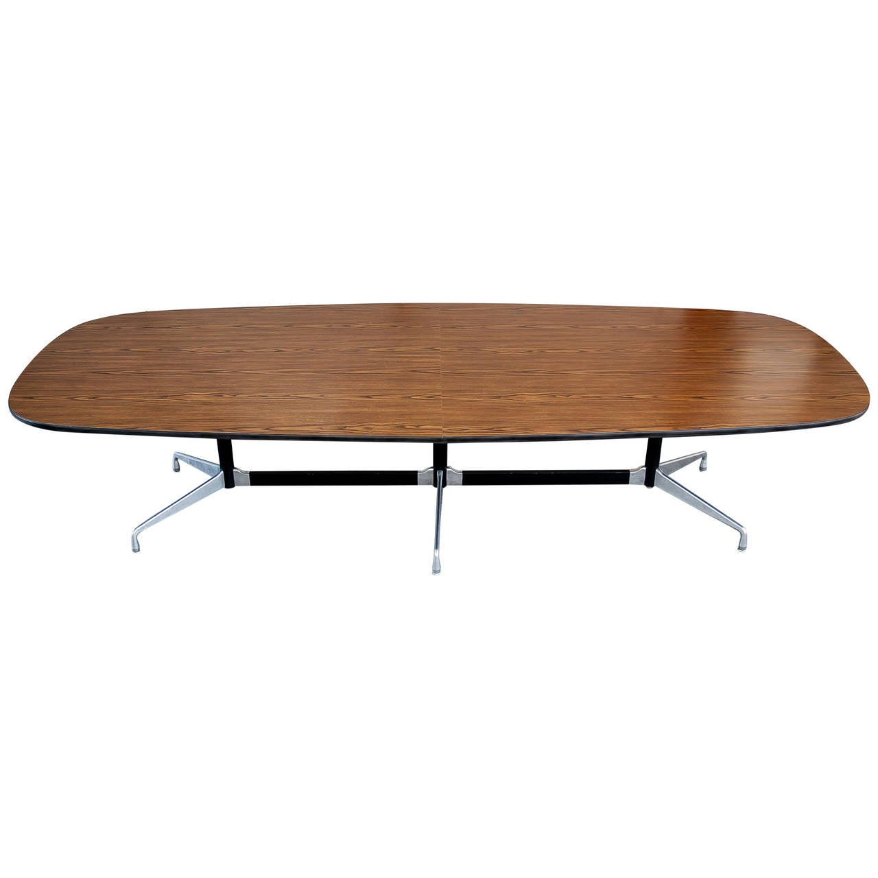 Vintage eames conference table for herman miller at 1stdibs - Herman miller eames table ...