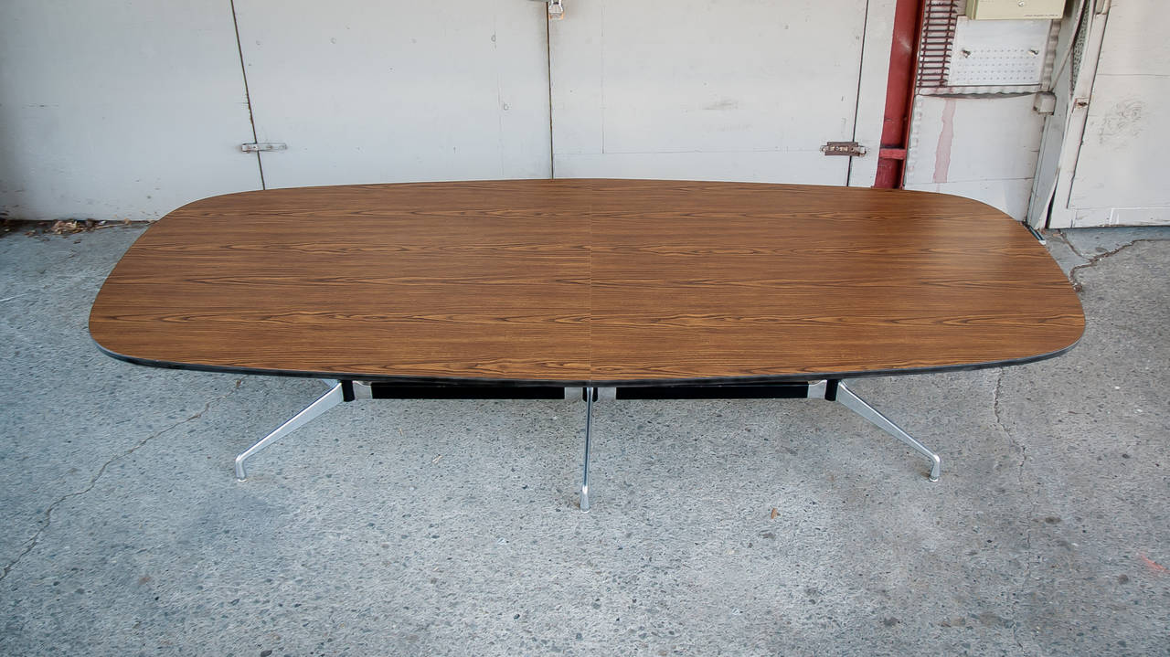 Vintage Eames Conference Table For Herman Miller For Sale