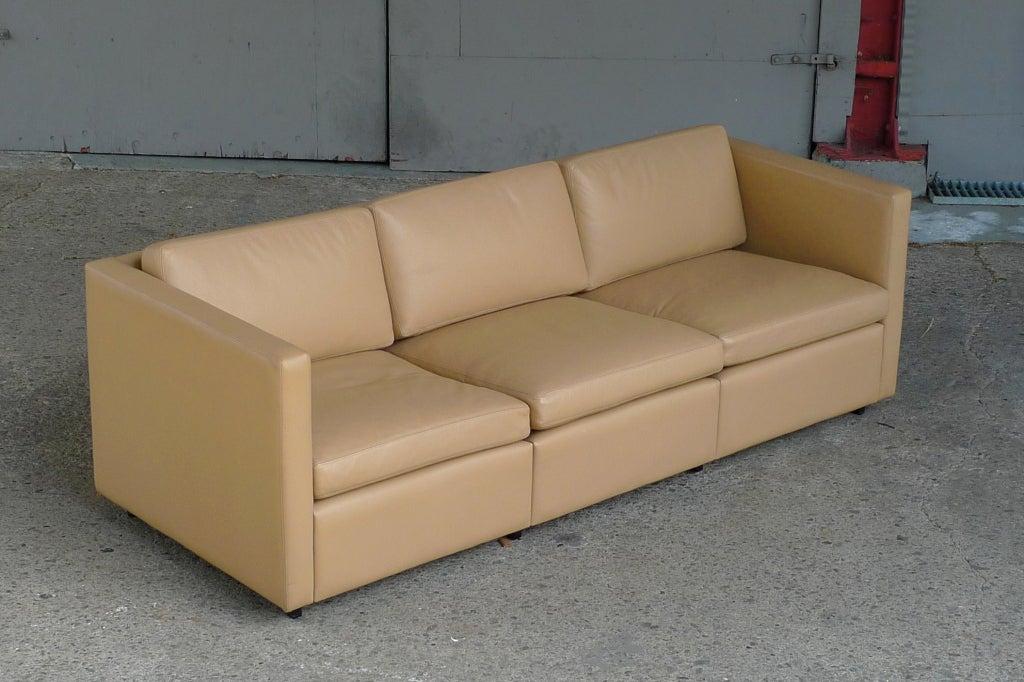 Charles Pfister Petite Gran Sofa For Knoll At 1stdibs