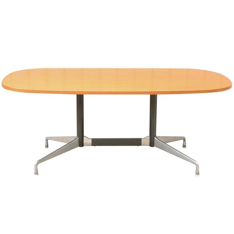 eames segmented base aluminum group table for herman miller 1964 at 1stdibs. Black Bedroom Furniture Sets. Home Design Ideas