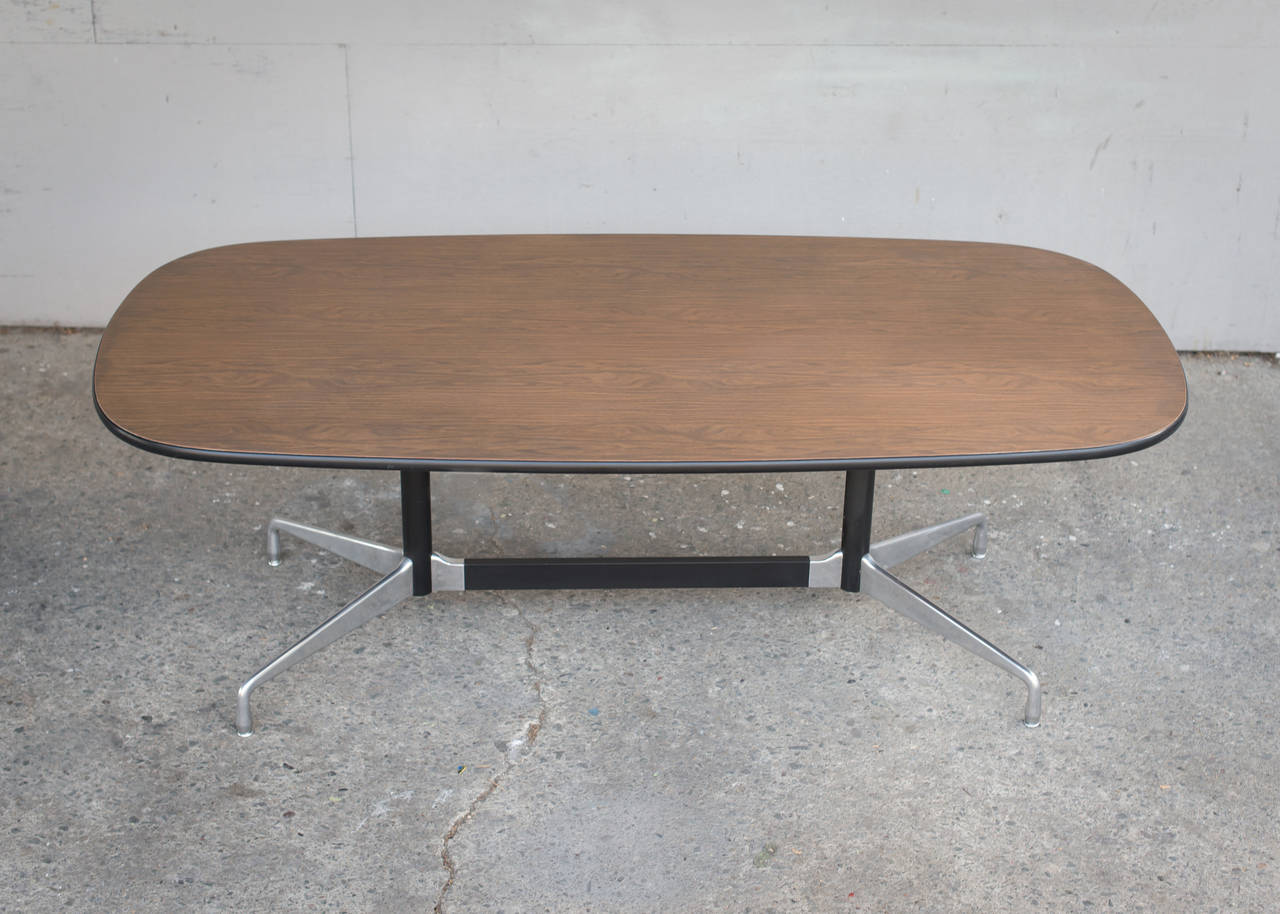 Charles eames table with lozenge top and segmented base at for Table charles eames