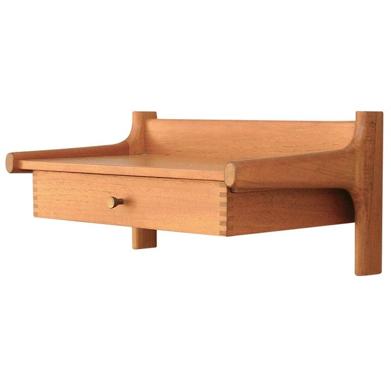 floating shelf with drawer quotes. Black Bedroom Furniture Sets. Home Design Ideas