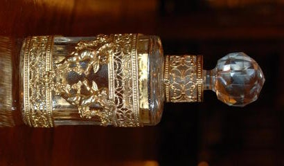 Antique French  Perfume Bottle. image 2
