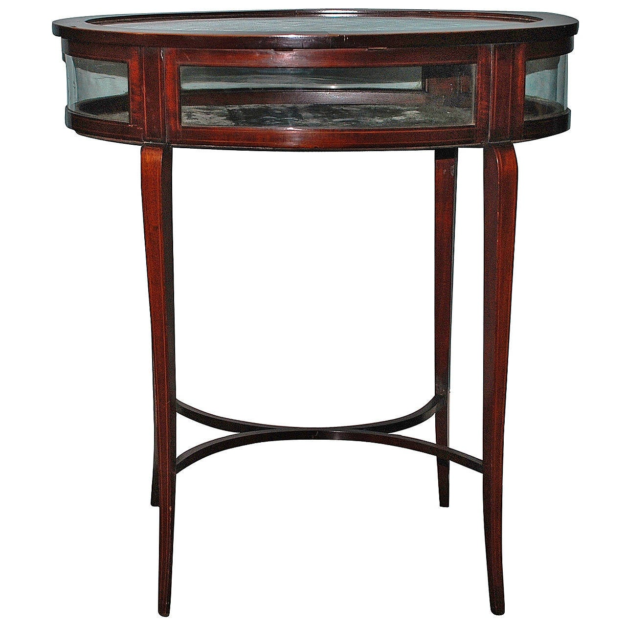 Vitrine display table at 1stdibs for Table vitrine