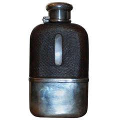 Antique Hip Flask, circa 1890