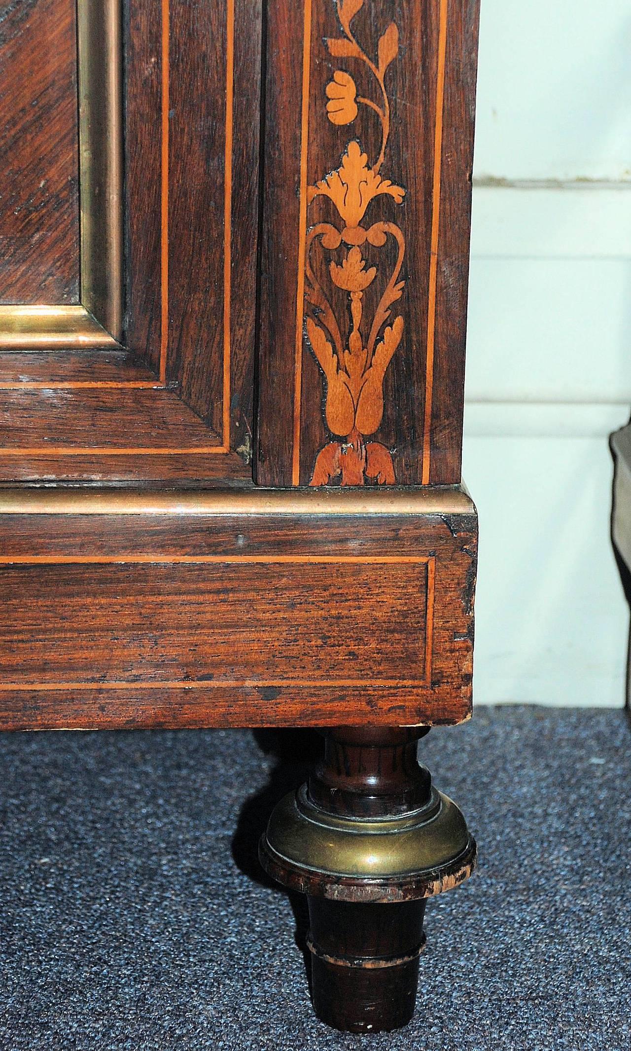 19th Century Antique Vitrine Cabinet