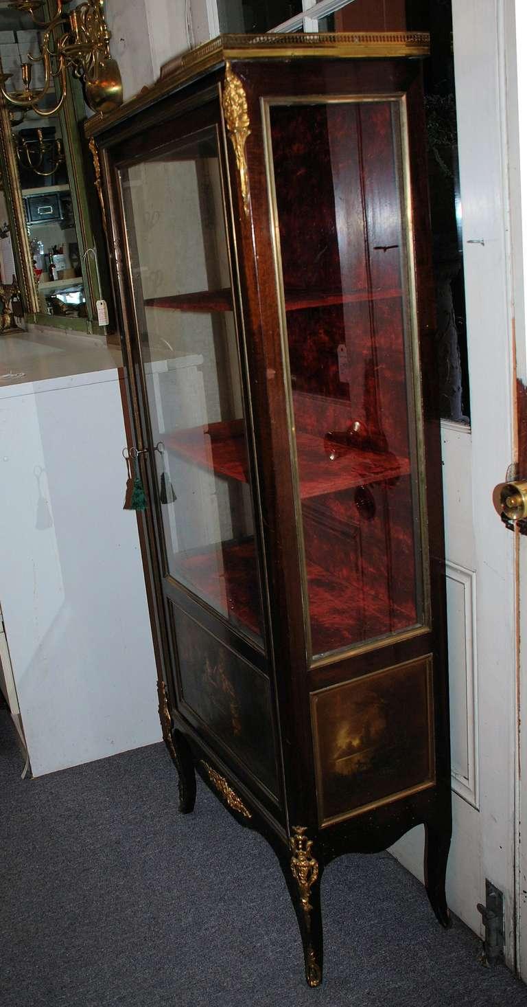 antique vitrine cabinet at 1stdibs. Black Bedroom Furniture Sets. Home Design Ideas