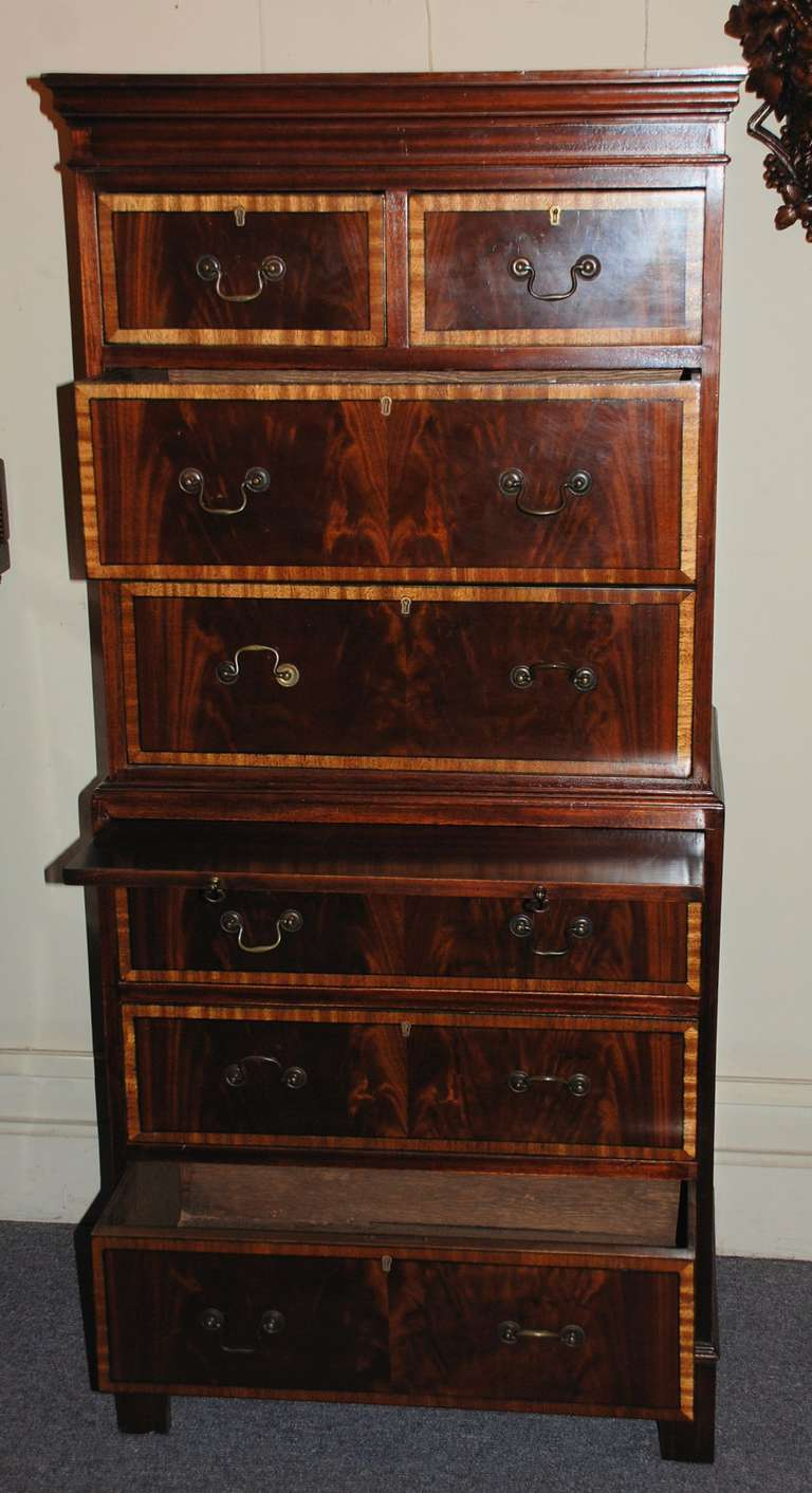 Edwardian Chest of Drawers For Sale