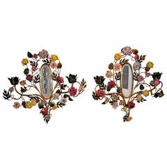 Antique Mirror Sconces