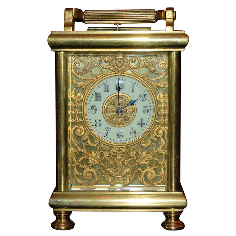 Antique Carriage Clock For Sale at 1stdibs