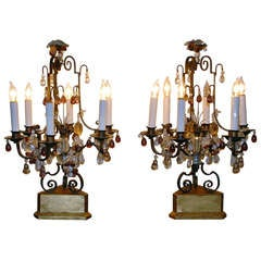 Pair of Antique French Girondoles