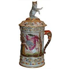 Antique Mug and Cover, c.1890