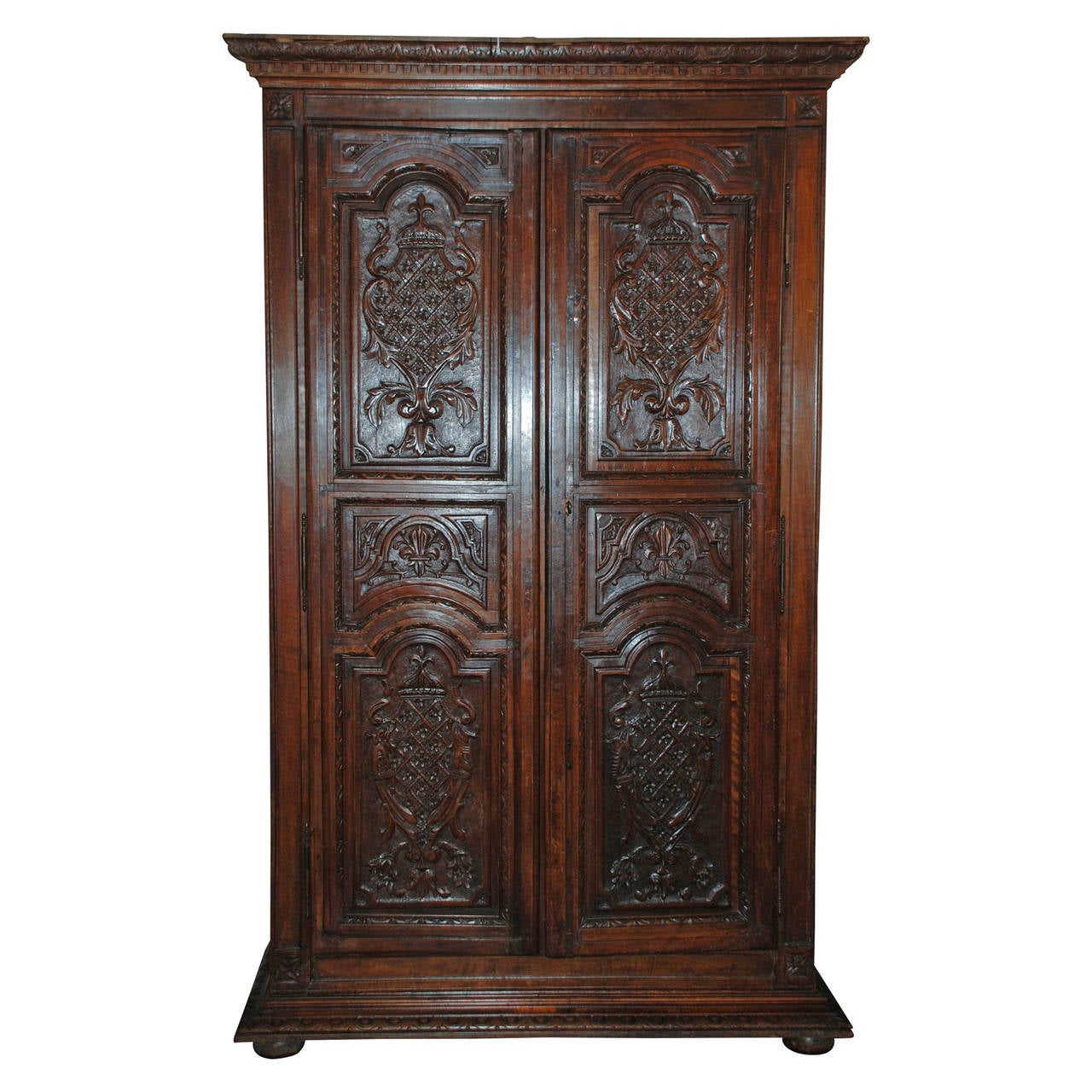 antique armoire for sale at 1stdibs. Black Bedroom Furniture Sets. Home Design Ideas
