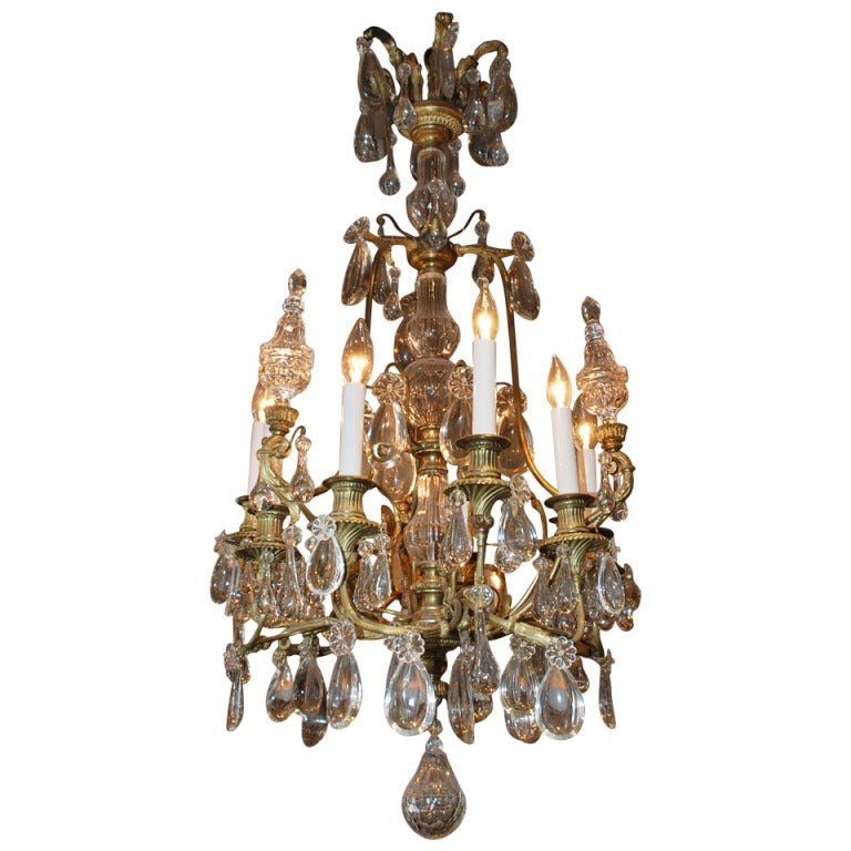 Antique French Chandelier For Sale