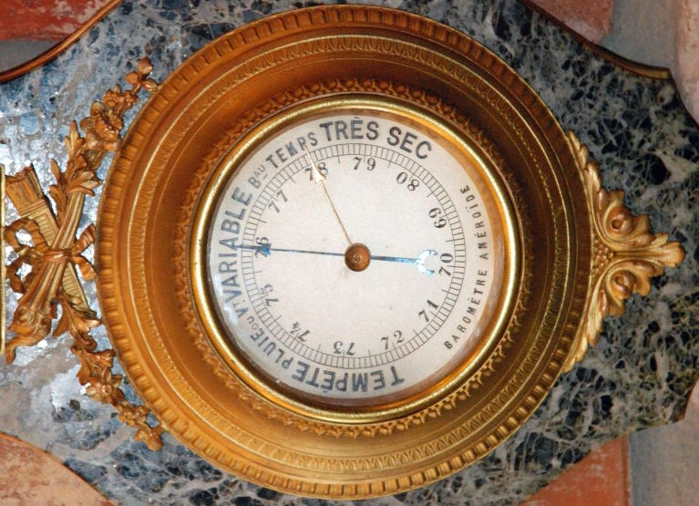 Antique Barometer For Sale 2