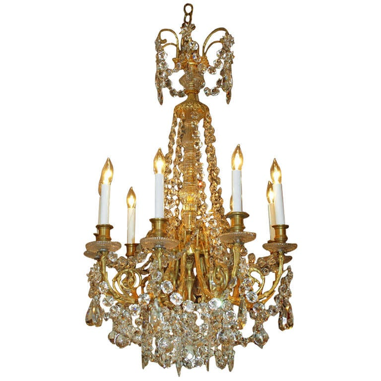 Antique French Chandelier For Sale at 1stdibs