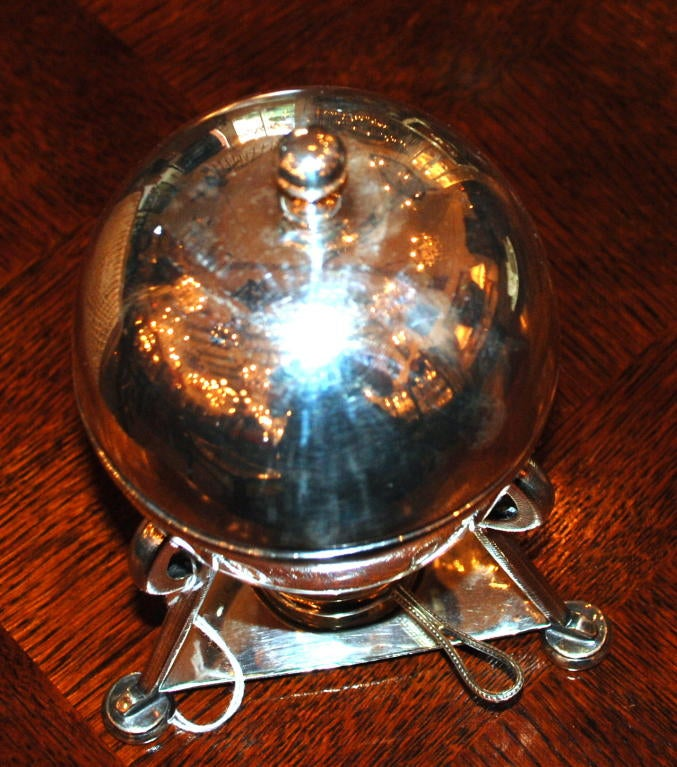 19th Century English Egg Coddler For Sale