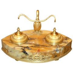 Antique French Empire Inkwell