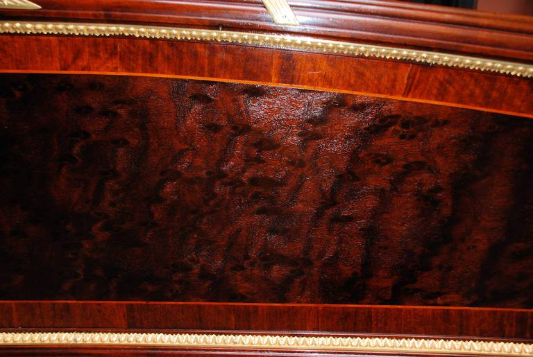 Mahogany Antique Bed