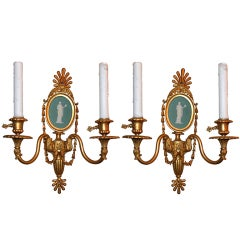 Pair of Antique Sconces
