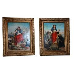 Pair of Antique Paintings