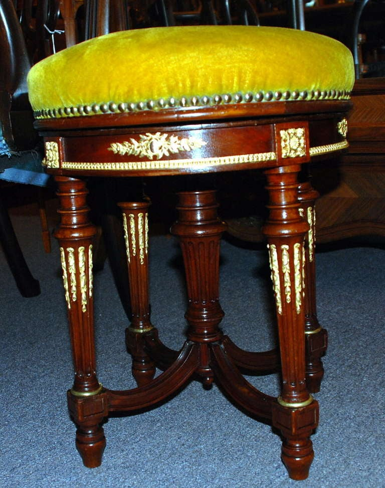 Antique Piano Bench At 1stdibs