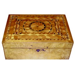 Antique Jewelry or Sewing Box