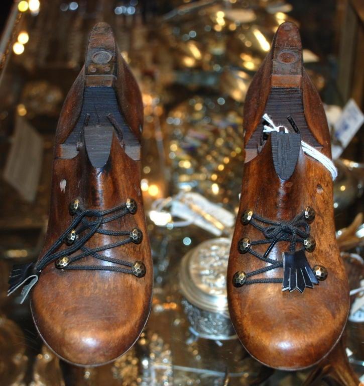 Antique English Victorian shoe