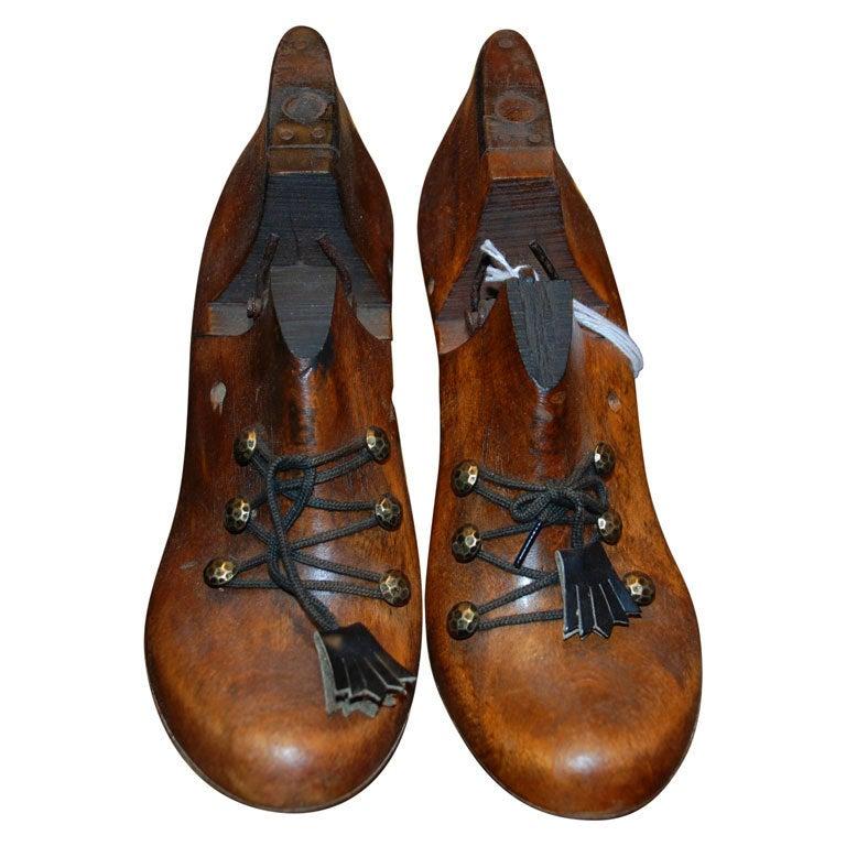 """Antique Shoe """"Lasts"""""""