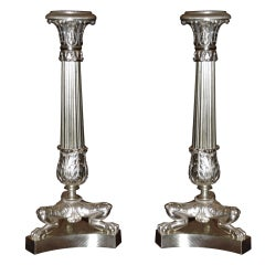 Pair of Antique Candlesticks