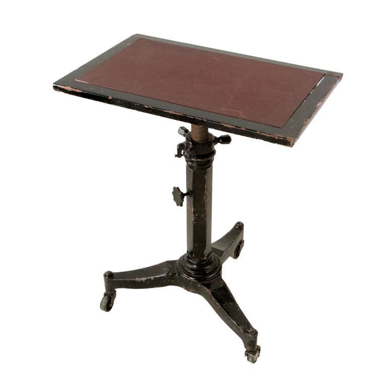 Iron Table Base at 1stdibs