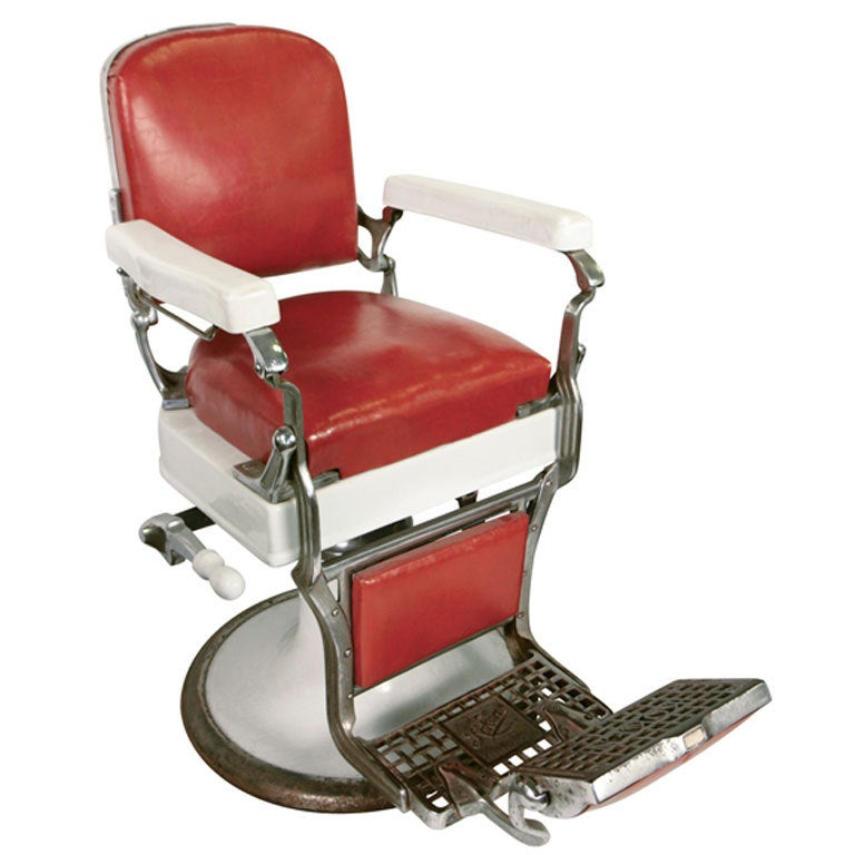 Barber Chair At 1stdibs